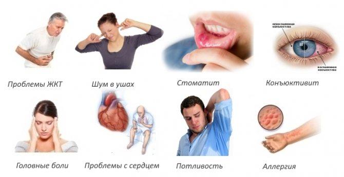 Побічні ефект кетопрофену