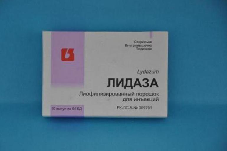 Показання до застосування препарату Лидаза