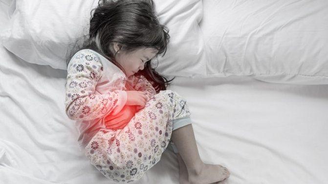 Полісорб добре допомагає і при блювоті у дитини.