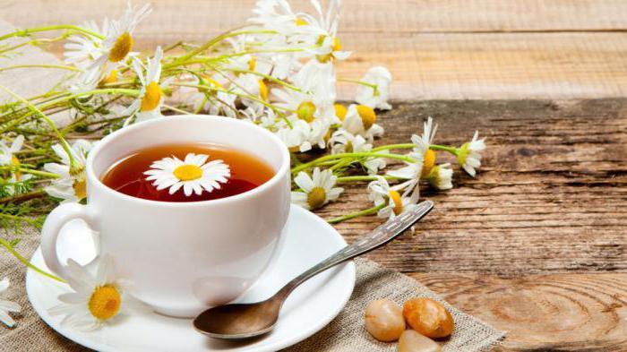 користь і шкода для жінок чаю з ромашки