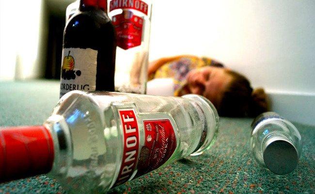 Наслідки інтоксікації спиртних напоїти