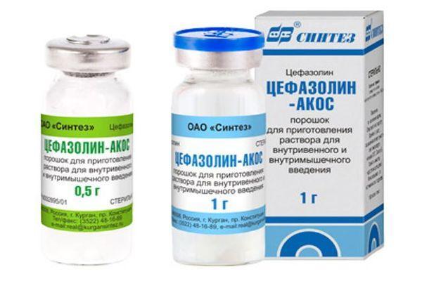 препарат цефазолін