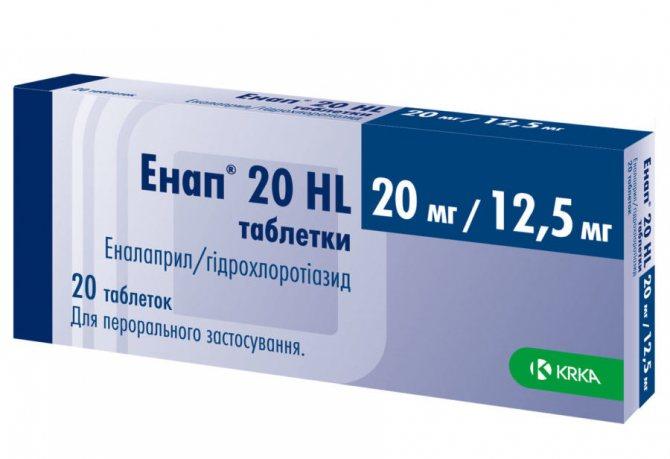 Препарат Енап-НЛ