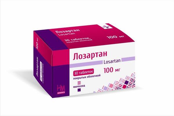 препарат Лозартан