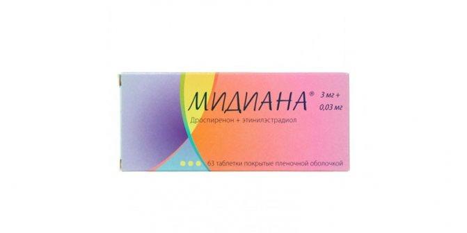 препарат Мідіана