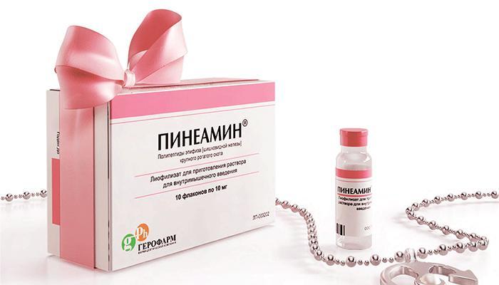 препарат Пінеамін