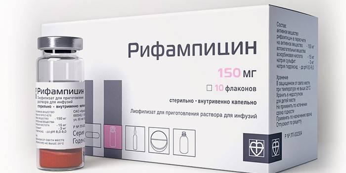 препарат Ріфампіцін