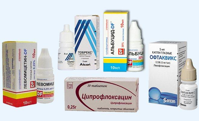 препарати для лікування дакриоцистита