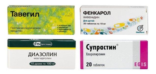 препарати від алергії