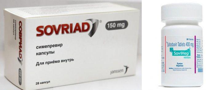 Препарати від гепатиту С