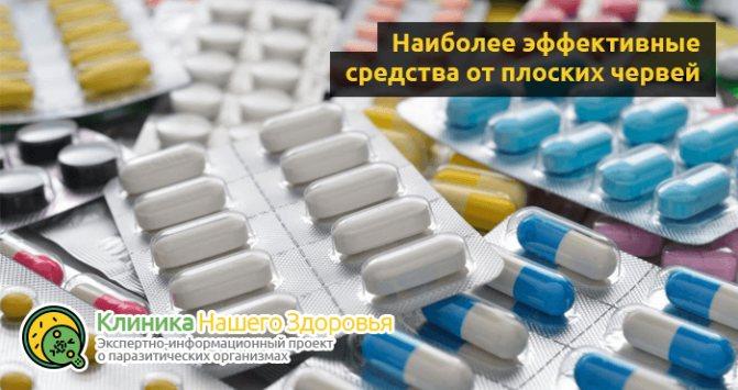 Препарати від глистів: кращі ліки і таблетки від паразитів