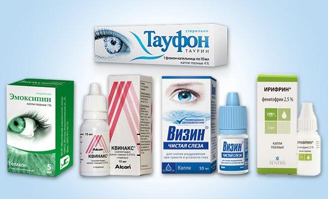 препарати при астігматізмі очей