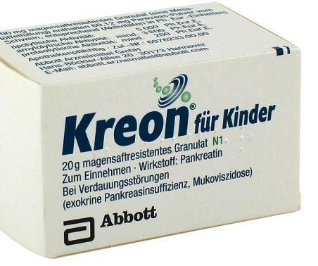 препарати містять ферменти підшлункової залози