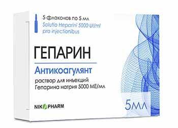 препарати в лікуванні ТІЛА
