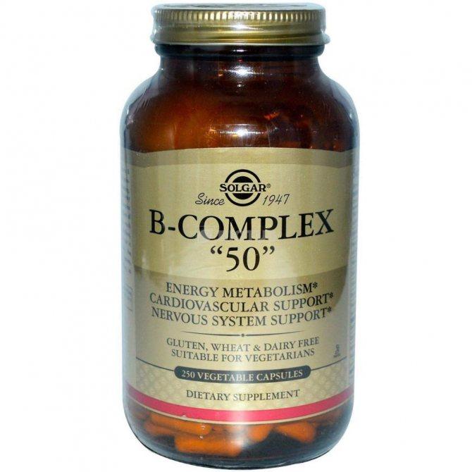 Препарати Вітамін Б комплекс