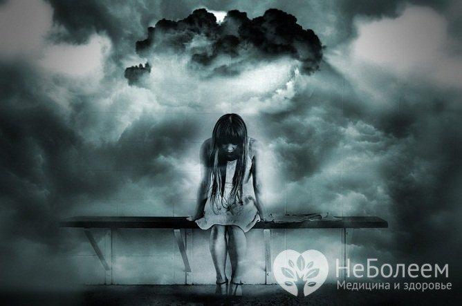 При біполярному розладі могут вінікаті Різні види депресії