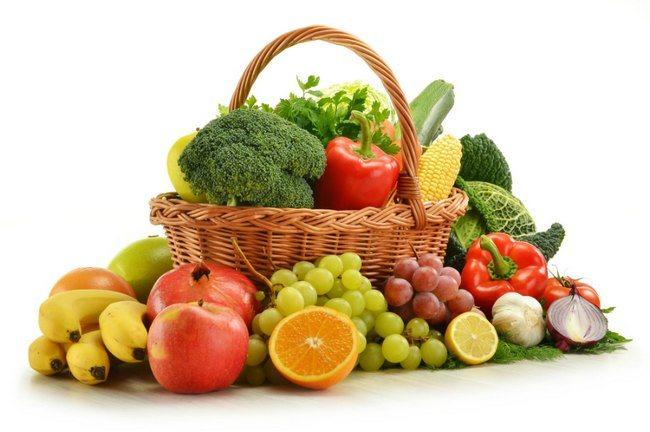 При нефриті показано їсти фрукти і овочі