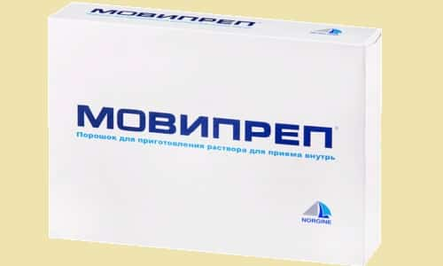 При передозуванні препарату Мовіпреп спостерігаються зневоднення і тривала діарея