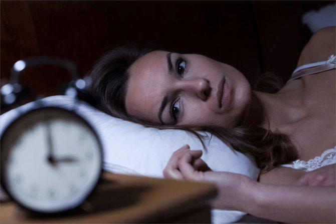 Причини хронічного безсоння