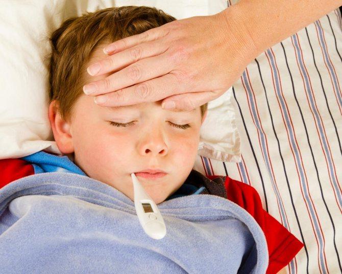 Причини підвищення температури тіла