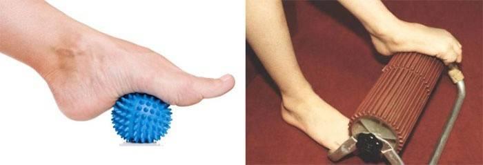 Прістосування для масажу ніг
