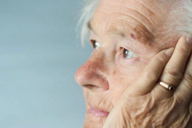 Ознаки, симптоми і особливості розвитку старечої деменції