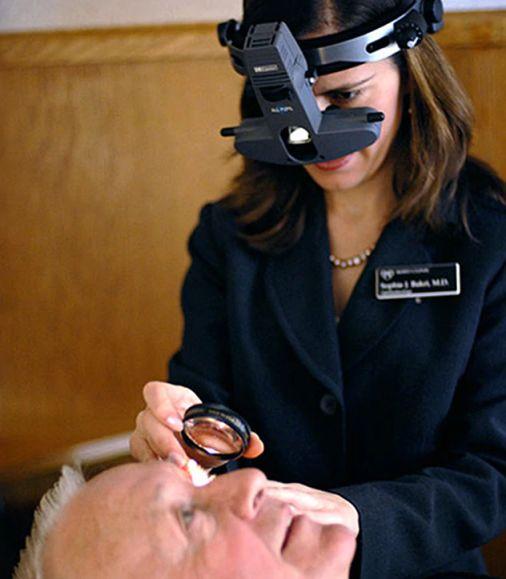 процедура офтальмоскопия