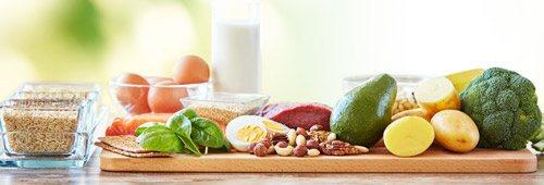 продукти для збалансованого харчування