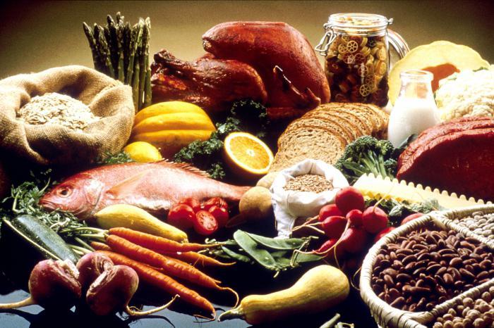 продукти при підвищеному цукрі