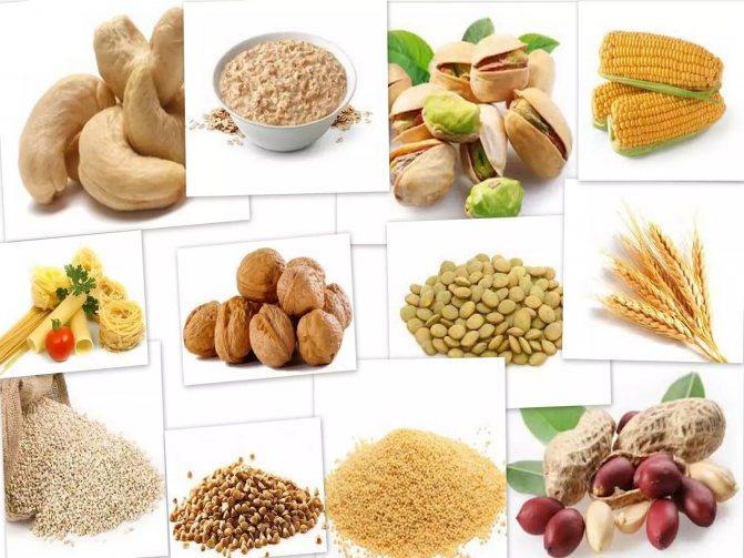 продукти змісту тіаміну