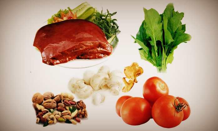 Продукти в яких міститься вітамін B7