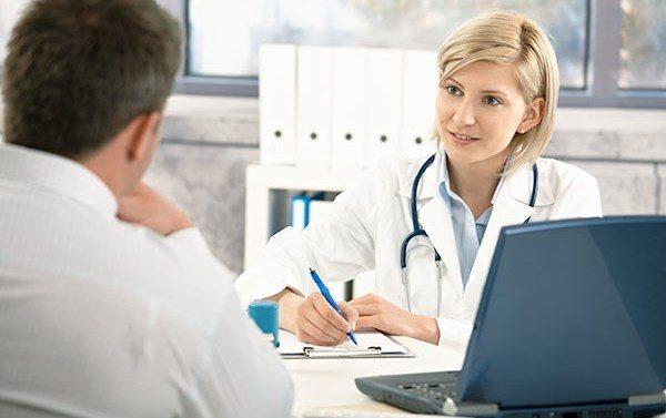 Проконсультуватися з лікуючим терапевтом