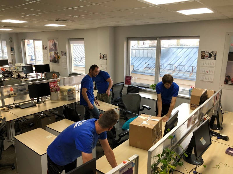 Організація швидкого офісного переїзду IT-компанії у Києві
