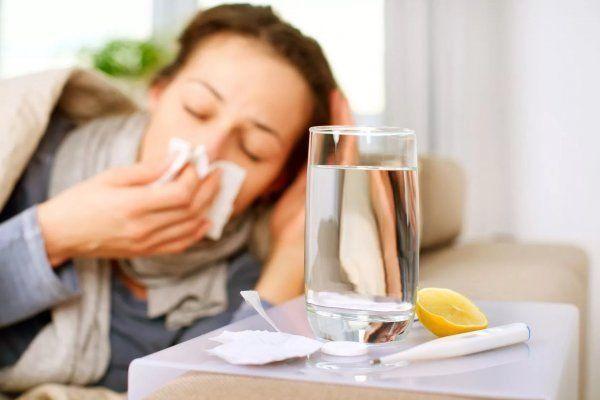 застуда у дівчини
