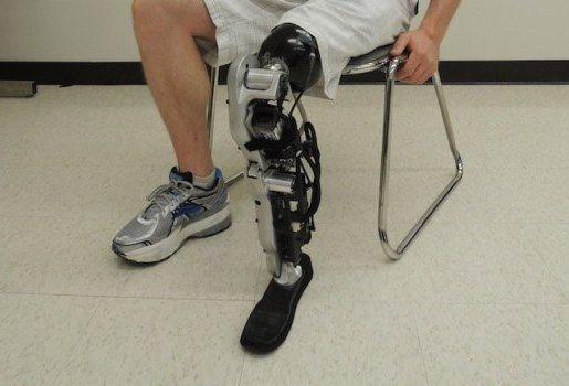 протез на нозі
