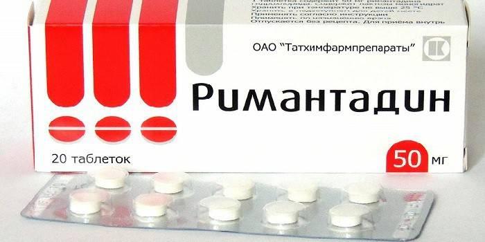 Противірусний засіб Ремантадин