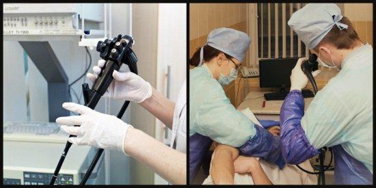 проведення езофагогастроскопіі