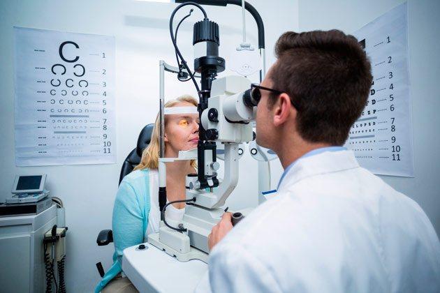 перевірка у офтальмолога