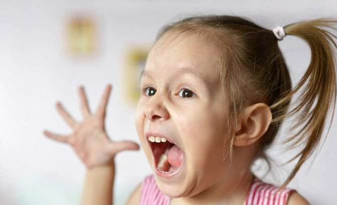 Прояв істерики у дитини