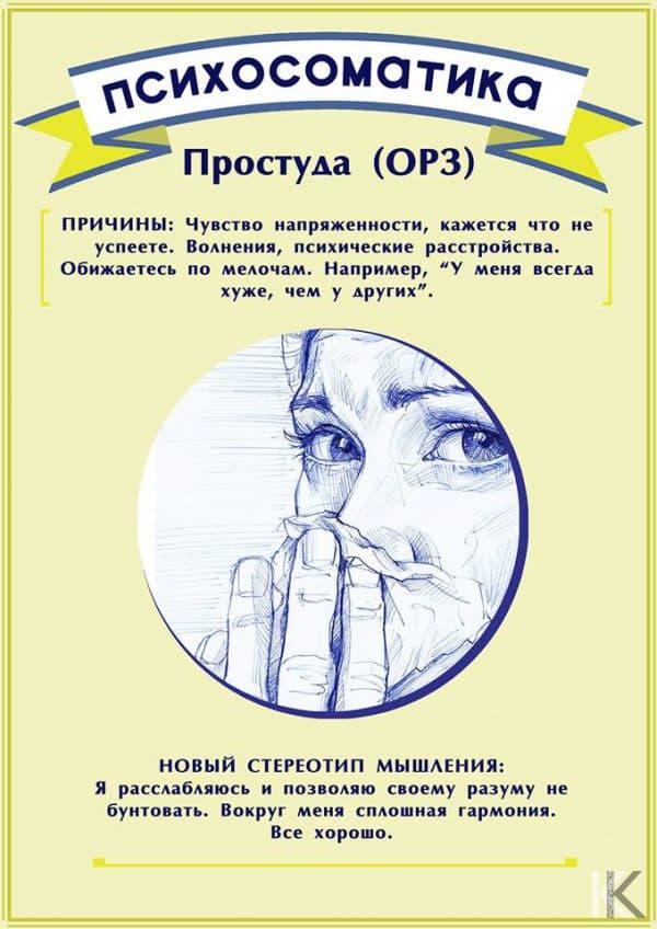 психосоматическая застуда