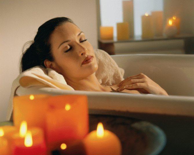 розслаблююча ванна