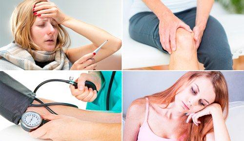 різні симптоми нейтропенії