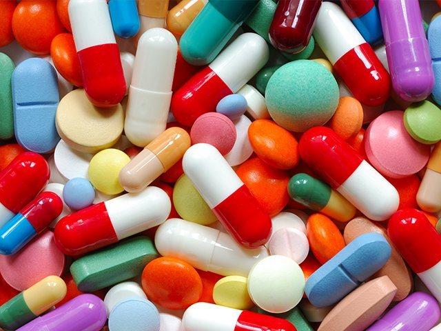 різні таблетки