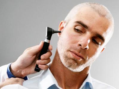 розрив барабанної перетинки вуха
