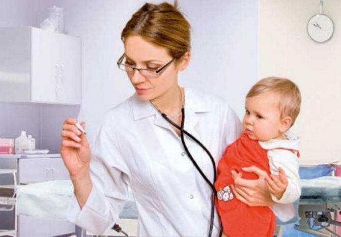 дитина і лікар