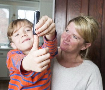 Дитина з діабетом 1-го типу
