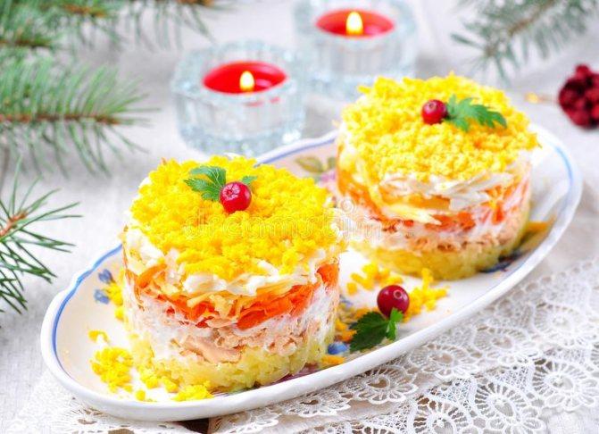 рецепт салату при панкреатиті