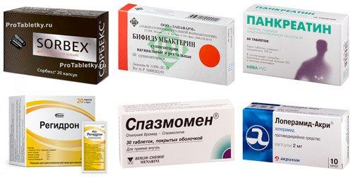 рекомендовані препарати для лікування запалення кишечника