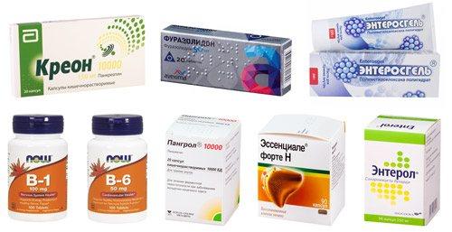 рекомендовані препарати для лікування