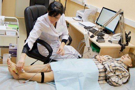 Реовазографія судин рук і ніг